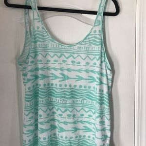 Scoop Back Tank Top By Pink size Medium New!